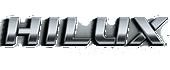 Logo HILUX CABINE DUPLA - FLEX